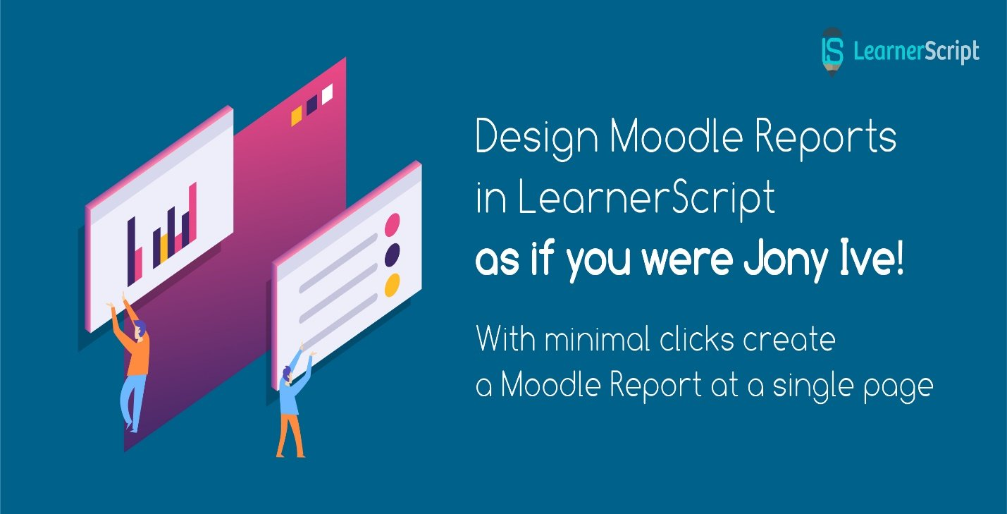 design moodle report