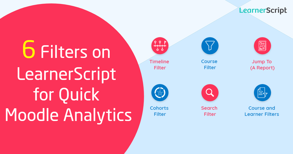 6 Filters on LearnerScript for Quick Moodle Analytics