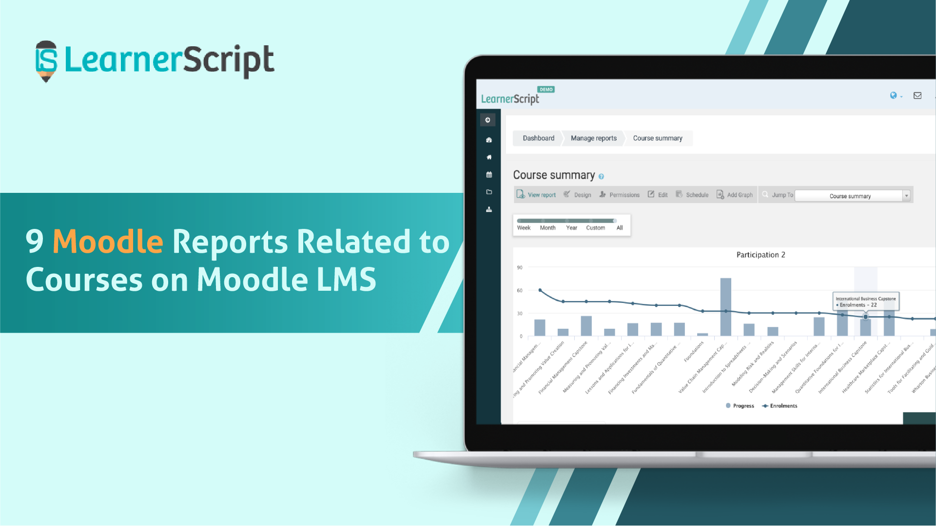 9 Moodle Reports Related to Courses on Moodle LMS
